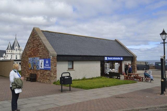 Tourist Information Centre at John O'Groats
