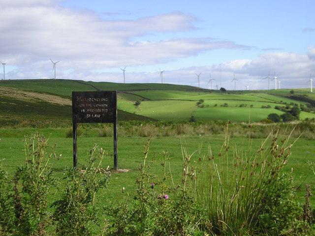 Common Land Above Cwm Rhydmilwyr