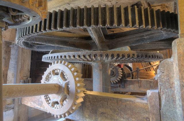 Interior, Houghton Mill