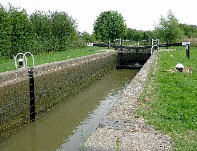 Crane's Lock south of Great Glen, Leicestershire
