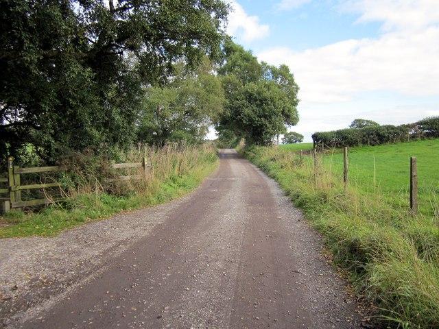 The Sandstone Trail near Little Heath