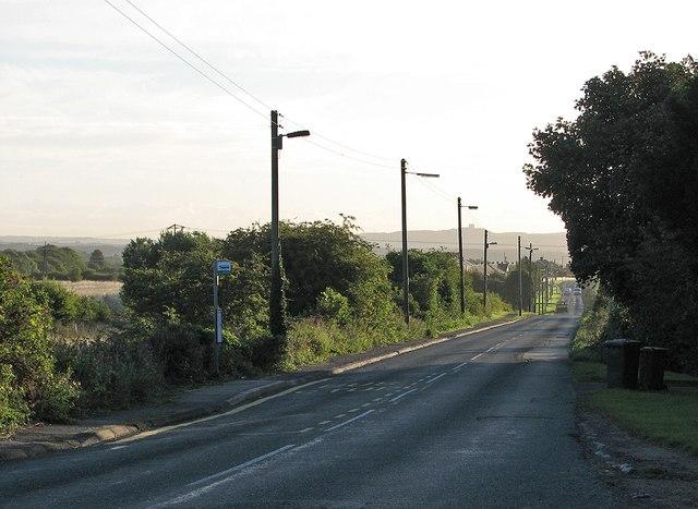 Towards Chester-le-Street