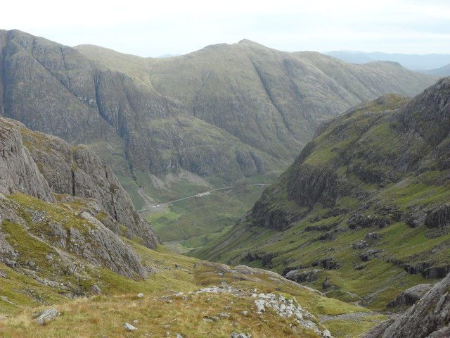View from the Coire nan Lochan