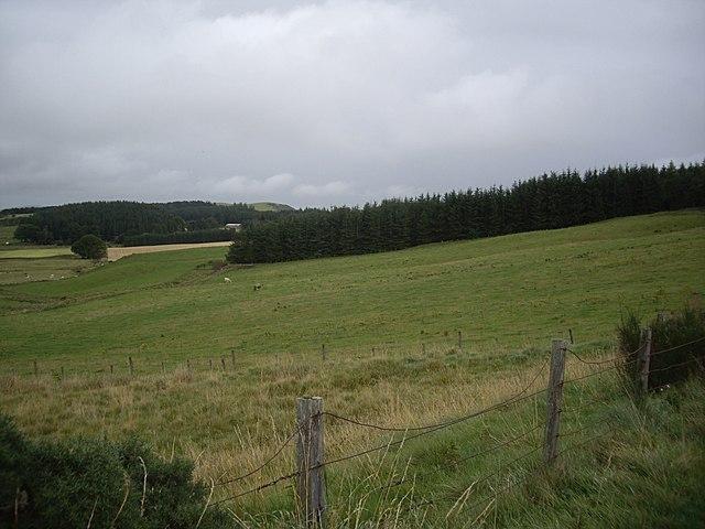 View NE from B9002 near Tamduff