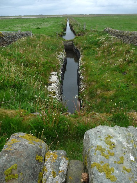 Water channel near Seater, Sanday, Orkney