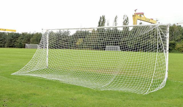 Goalposts, Victoria Park, Belfast (2)