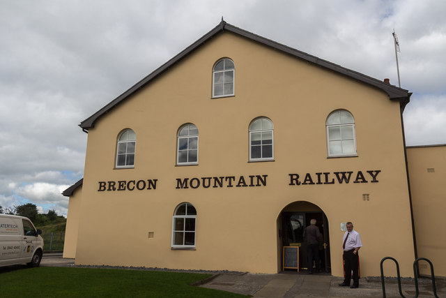 Station of Brecon Mountain Railway