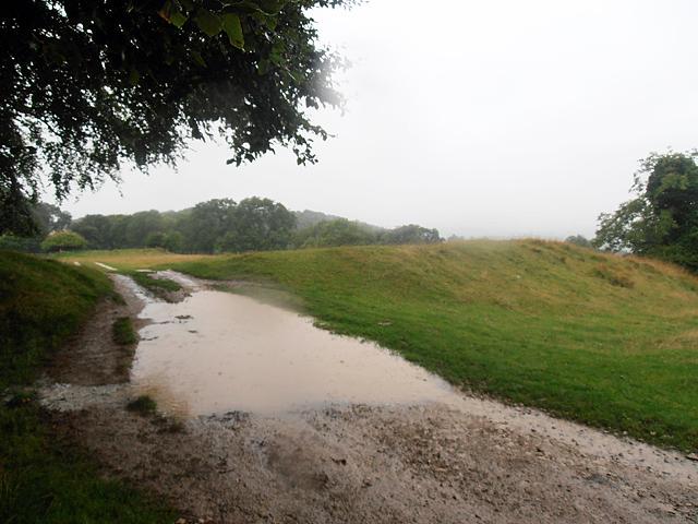 Cotswold Way 016 (it's now a deluge)