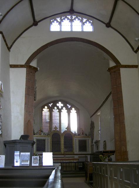 Inside St Martin's church