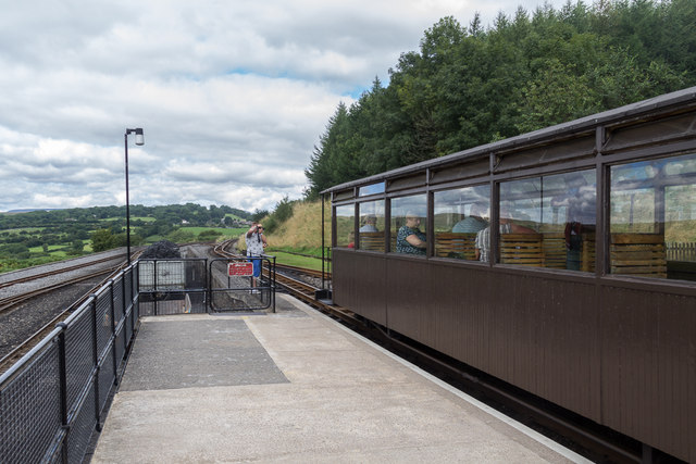 Platform, Brecon Mountain Railway