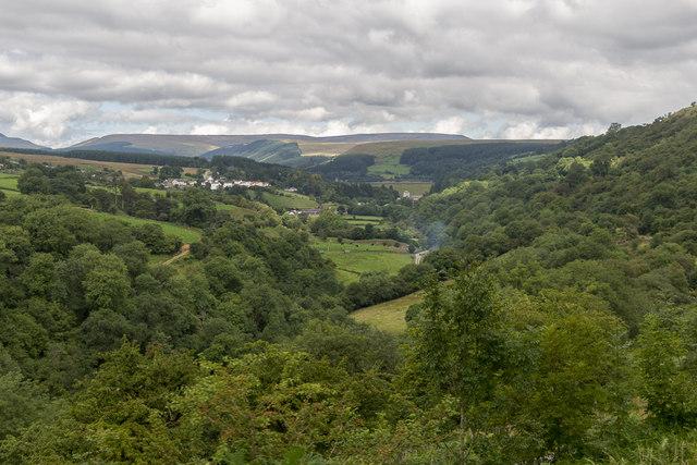 Cwm Taf Fechan, Brecon Mountain Railway