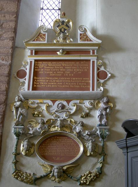 Elegant memorial