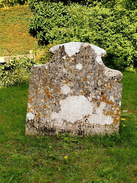 'Reader, Repent': headstone in St Andrew's churchyard