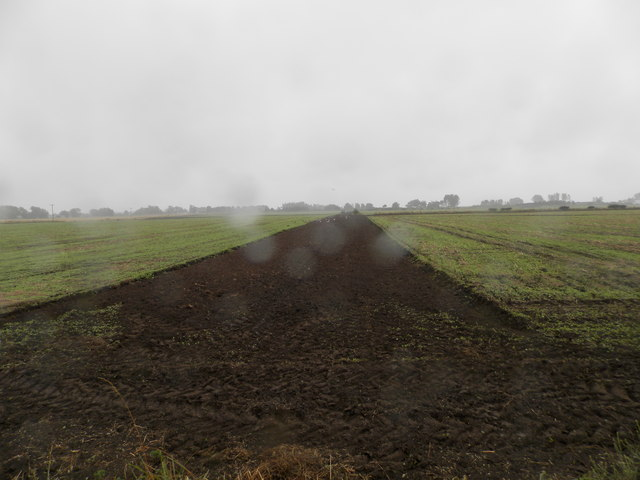 Ploughing in progress near Balhungie