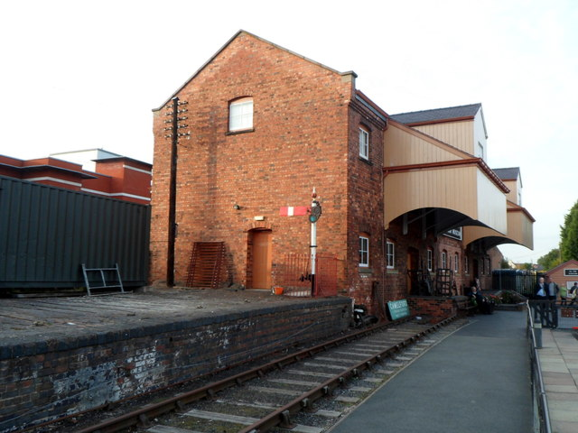 End of the line at Kidderminster Town station