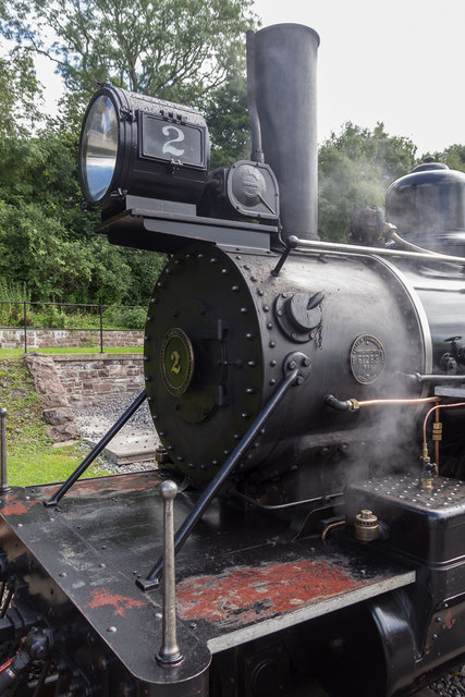 Steam Locomotive, Brecon Mountain Railway