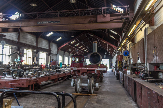 Engine Shed, Pant, Brecon Mountain Railway