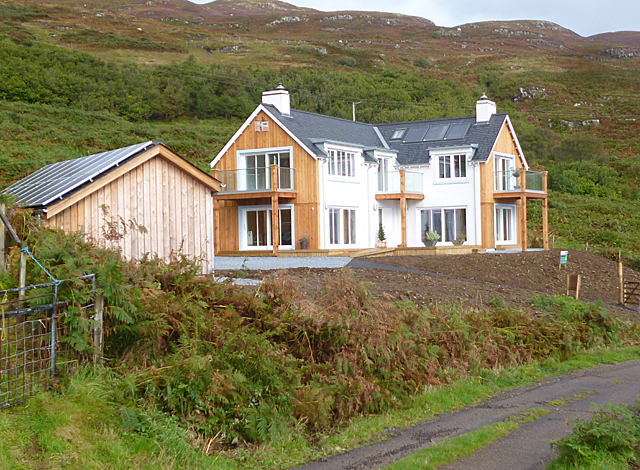 New House in Ormsaigbeag