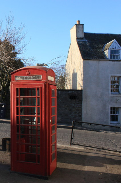 Old style telephone box Muthill