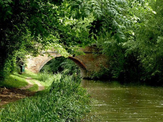 Bowden Road Bridge near Newton Harcourt, Leicestershire