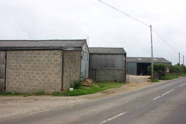 Barns at Newhouse, Pont-yr-Hafod