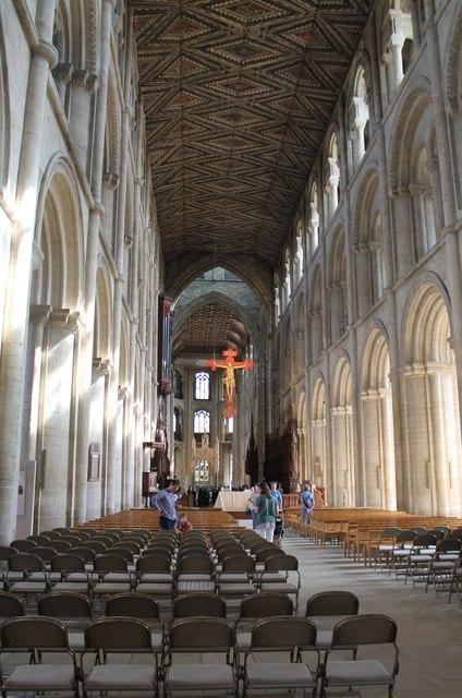 Interior, Peterborough Cathedral