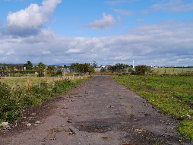 Approaching Barnsford Road