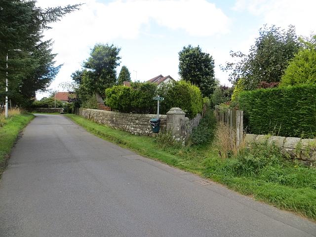 Path end, Crook of Devon