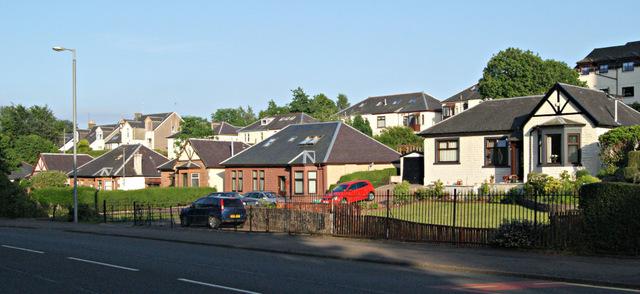 Houses on Inverkip Road