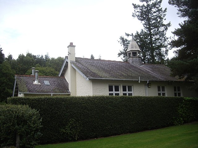 A staff building at Glen O'Dee