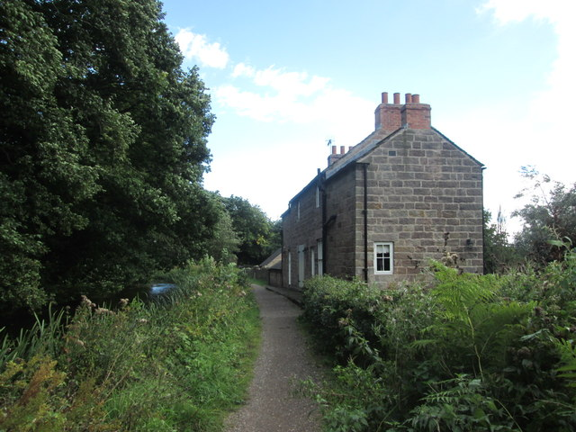 Cottage at Mold's Wharf, Cromford Canal