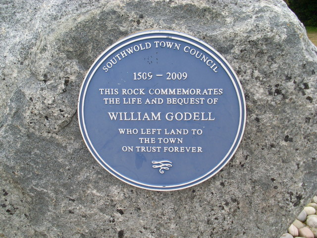 William Godell Commemorative Stone in Southwold (1)
