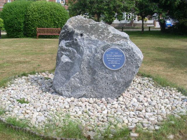 William Godell Commemorative Stone in Southwold (2)