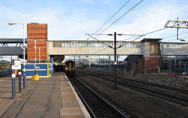 Peterborough Station: footbridge alterations