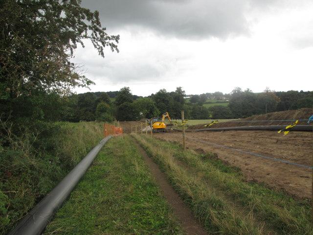 Major works south of Belper Bridge