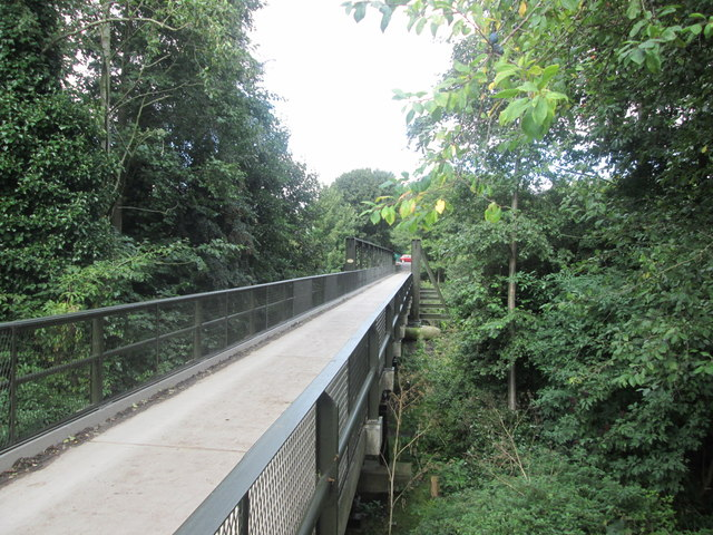 Bridge over the River Derwent near Chevinside