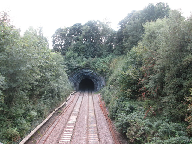 Northern portal of Milford Tunnel