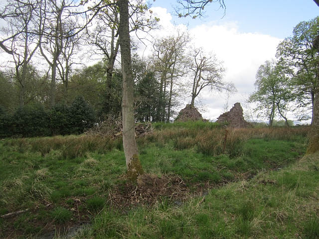 Ruin, Boarstone Cottage