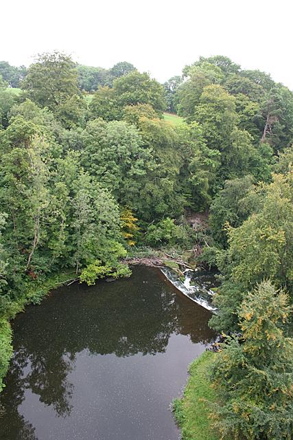 Weir on the River Avon