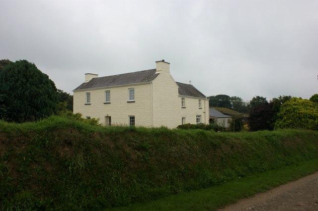 Farmhouse at Treddiog Fawr