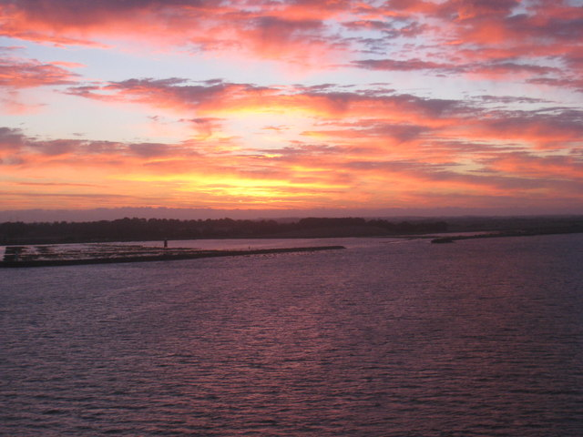 Dawn over the Paull Lagoon