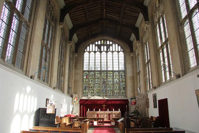 Holy Trinity church chancel