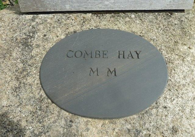 Combe Hay's Millennium Memorial