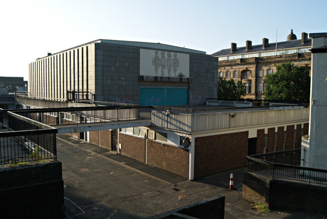 Former Greenock Central Library
