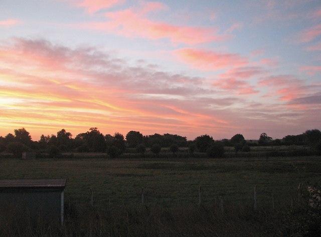 Fen sunrise