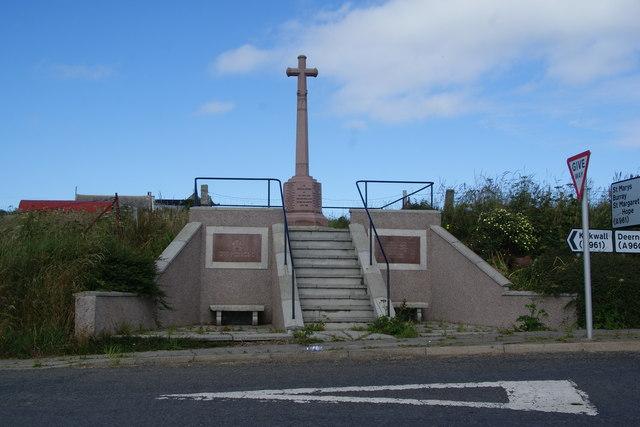 Holm war memorial