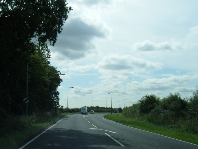 A158 at Top Nursery Spinney