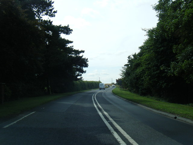 A158 near Barr Farm