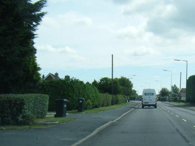 Spilsby Road leaving Horncastle
