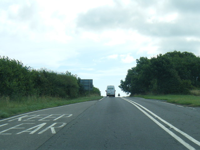 A158/B1195 junction